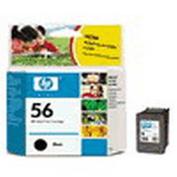 HP Глава черна  No. 56 black, 19 ml, C6656AE